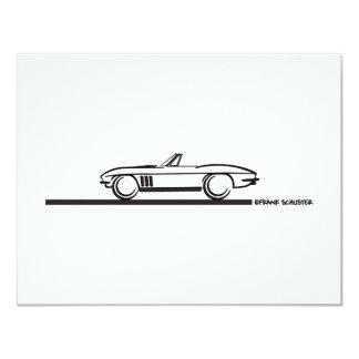 1965 Corvette Convertible Card