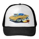 1965 Corvette Gold Convertible Trucker Hat