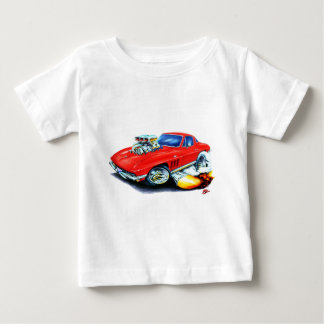 1965 Corvette Red Car Baby T-Shirt