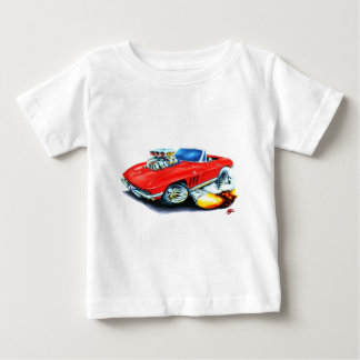 1965 Corvette Red Convertible Baby T-Shirt