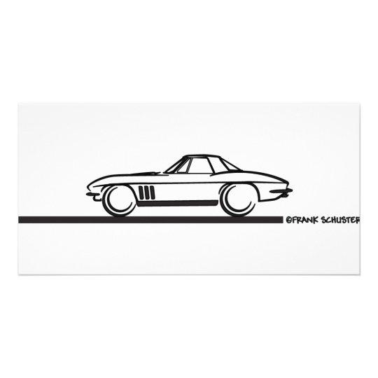1965 Corvette Stingray Hardtop BLK Card