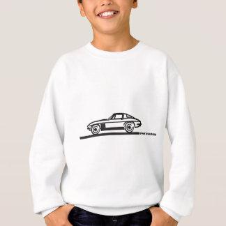 1965 Corvette Stingray Split Blk Sweatshirt