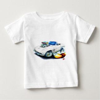 1965 Corvette White Convertible Baby T-Shirt