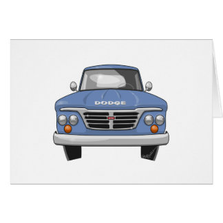 1965 Dodge Pickup Truck Card