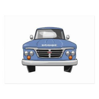 1965 Dodge Pickup Truck Postcard