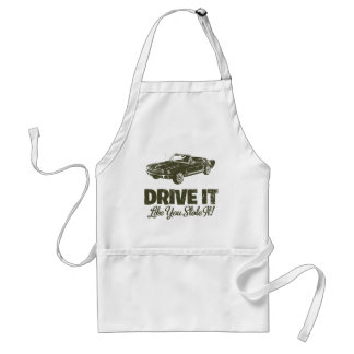 1965 Ford Mustang Convertible Adult Apron