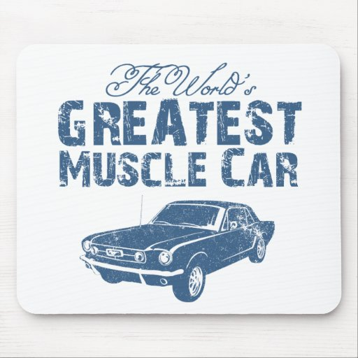 1965 Ford Mustang Coupe Mouse Pads