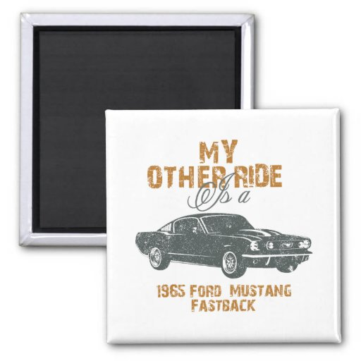 1965 Ford Mustang Fastback Magnet