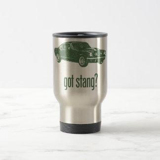 1965 Ford Mustang Fastback 15 Oz Stainless Steel Travel Mug