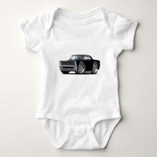 1965 GTO Black Car Baby Bodysuit