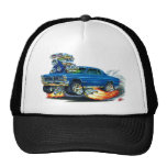 1965 GTO Blue Car Trucker Hat