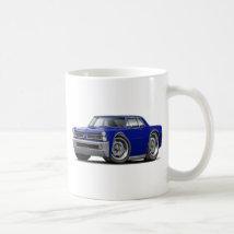 1965 GTO Dark Blue Car Coffee Mug