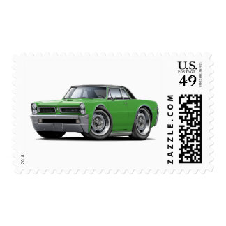 1965 GTO Green-Black Top Postage Stamps