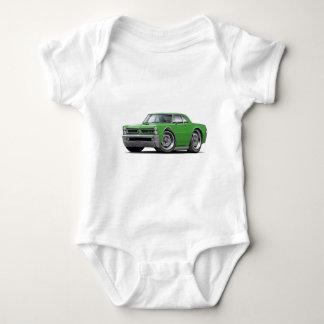 1965 GTO Green Car Baby Bodysuit