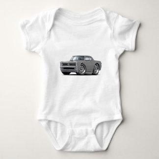 1965 GTO Grey Car Baby Bodysuit