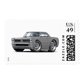 1965 GTO Grey Car Stamps