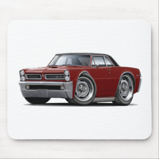 1965 GTO Maroon-Black Top Mouse Pad