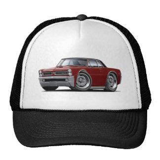 1965 GTO Maroon-Black Top Trucker Hat