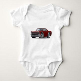 1965 GTO Maroon Car Baby Bodysuit