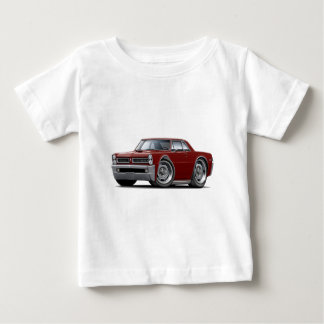 1965 GTO Maroon Car Baby T-Shirt