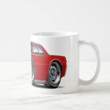1965 GTO Red Car Coffee Mug
