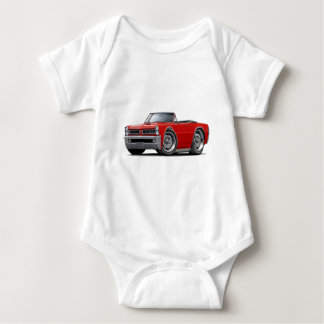 1965 GTO Red Convertible Baby Bodysuit