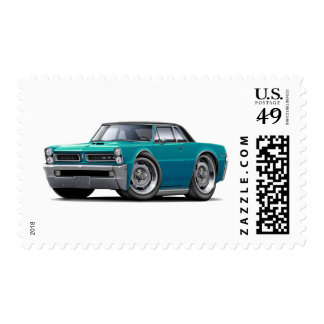 1965 GTO Teal-Black Top Stamps