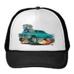 1965 GTO Teal Car Mesh Hats