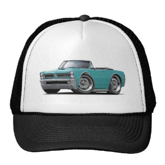1965 GTO Turquoise Convertible Mesh Hats