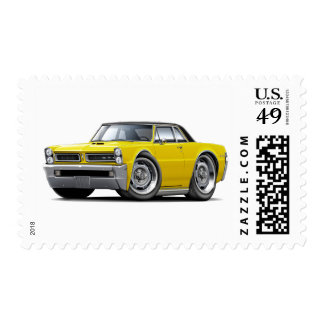 1965 GTO Yellow-Black Top Stamp