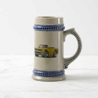 1965 GTO Yellow Convertible Beer Stein