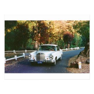 1965 Mercedes-Benz 220SEb coupe Postcards