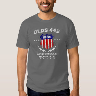 1965 Olds 442 American Muscle v3 Tee Shirt