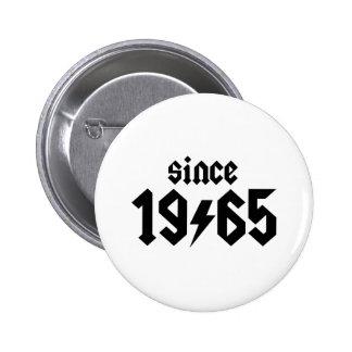 1965 PIN REDONDO 5 CM
