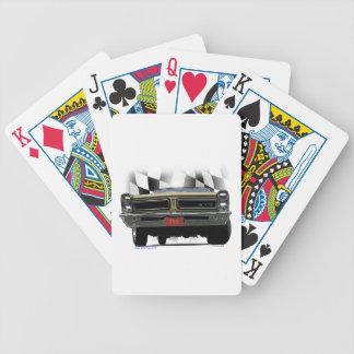 1965 Pontiac GTO Bicycle Playing Cards