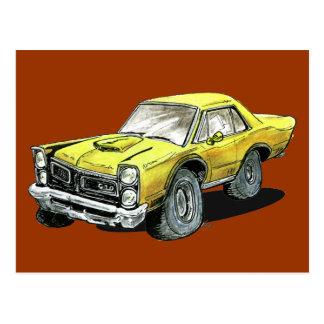 1965 Pontiac GTO Postcard