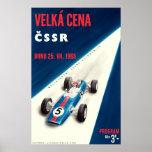 1965 Vekla Cena CSSR Race Poster