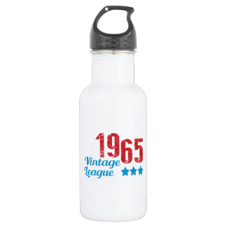1965 vintage leaque stainless steel water bottle