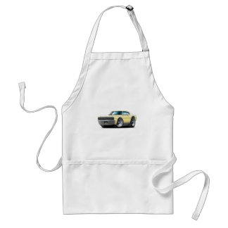 1966-67 Charger Light Yellow Car Adult Apron