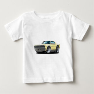 1966-67 Charger Light Yellow Car Baby T-Shirt