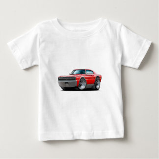 1966-67 Charger Red Car Baby T-Shirt