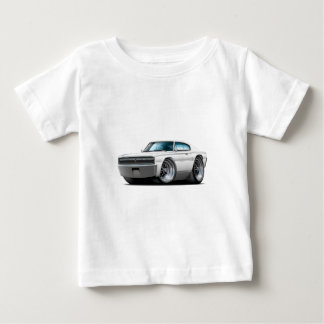 1966-67 Charger White Car Baby T-Shirt