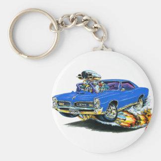 1966-67 coche del azul de GTO Llavero Redondo Tipo Pin