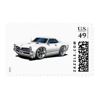 1966/67 coche del blanco de GTO Timbre Postal