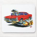 1966-67 coche del rojo de GTO Tapete De Ratón
