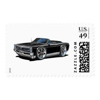 1966/67 convertible negro de GTO Sellos