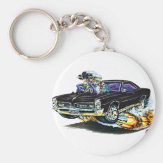 1966-67 GTO Black Car Keychain