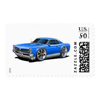 1966/67 GTO Blue Car Postage