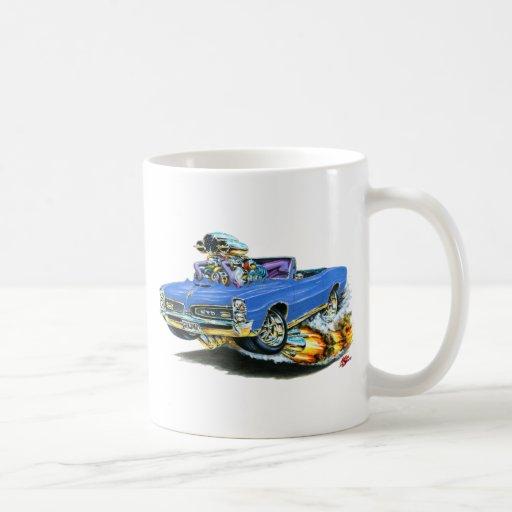 1966-67 GTO Blue Convertible Coffee Mug