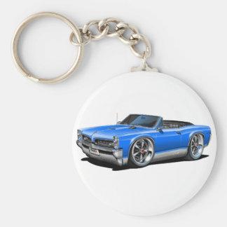 1966/67 GTO Blue Convertible Keychain